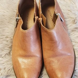 Lucky Brand Women Ankle Boots - Size 7